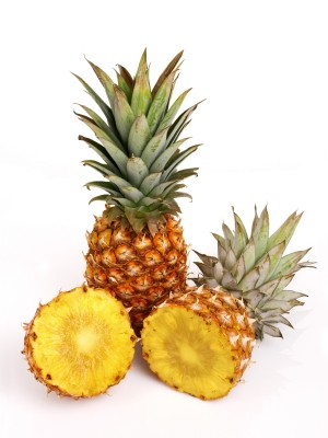RAW PINEAPPLE (not canned!)